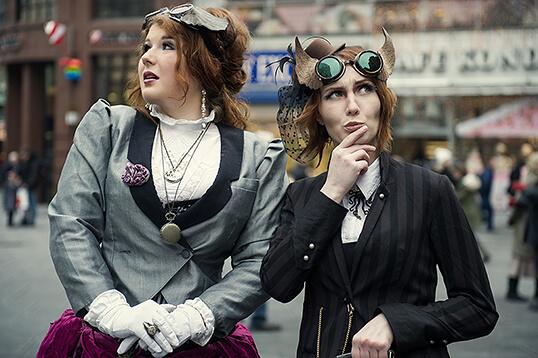 victorian, steampunk, wien, vienna, stephansplatz