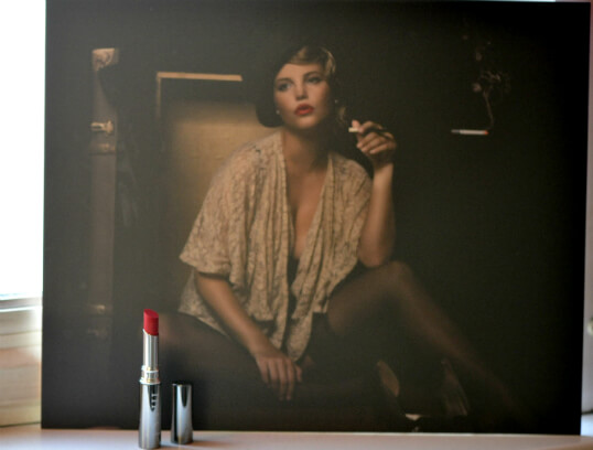 lippenstift, wall print, mist stockholm, austria, gewinnspiel