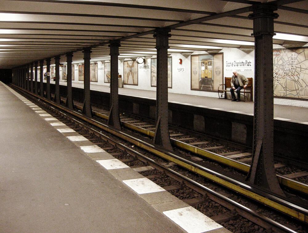 berlin, s bahn, vintage, schienen, underground, deutschland