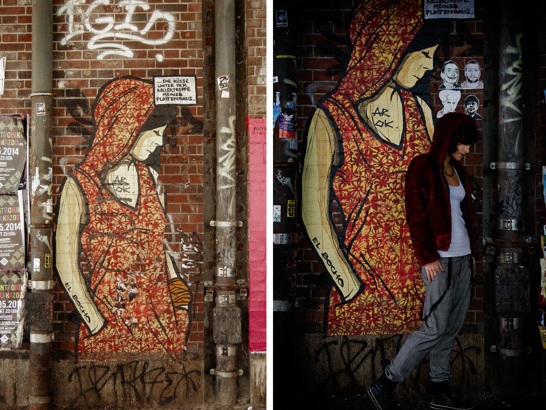 berlin, hackescher markt, streetart, julie, anne wenzel, fotografie