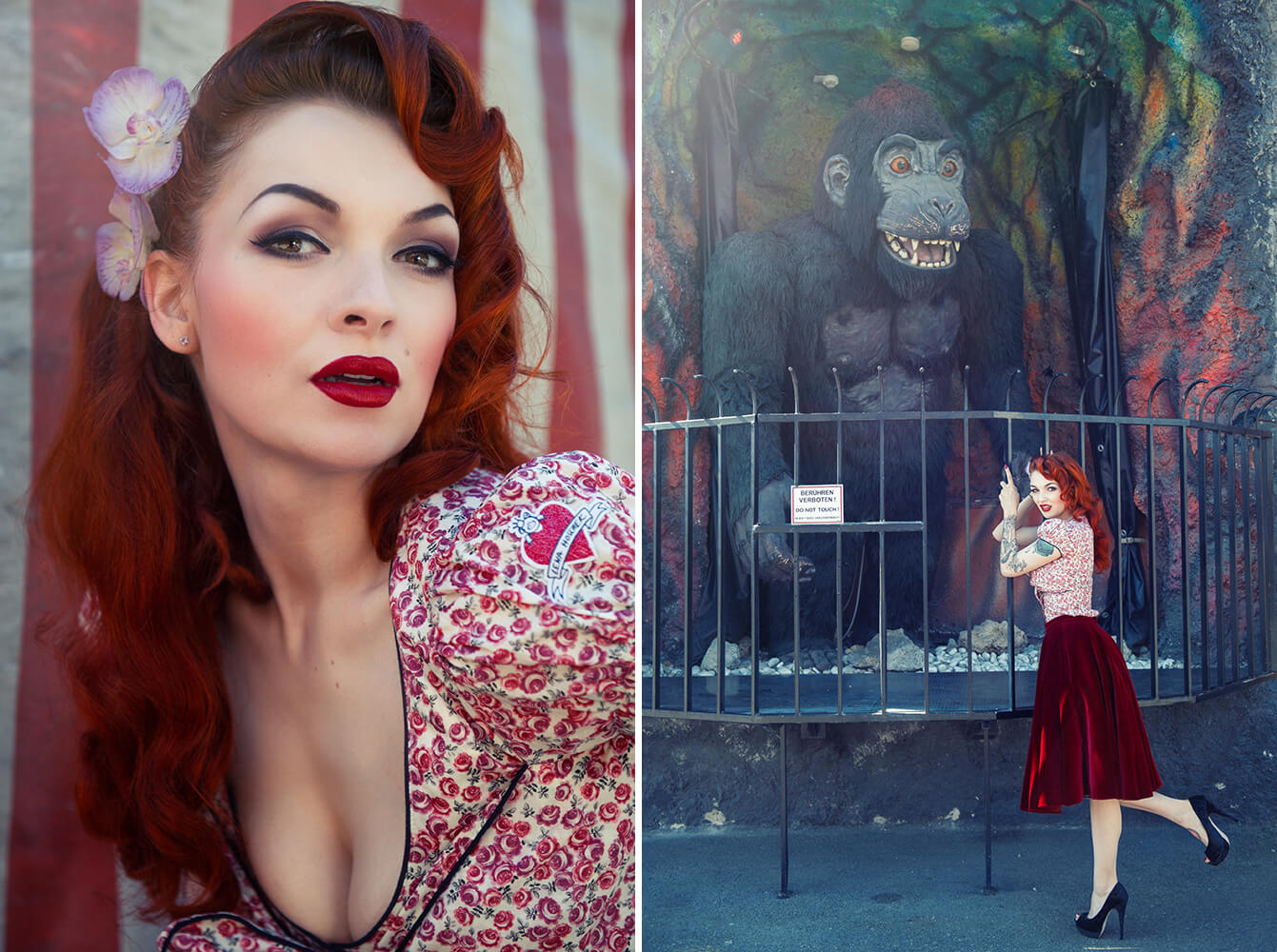 ursula schmitz, joan, prater, wien, shooting, fotografie, angebot, vintage, retro, lena hoschek, photos and the city, king kong