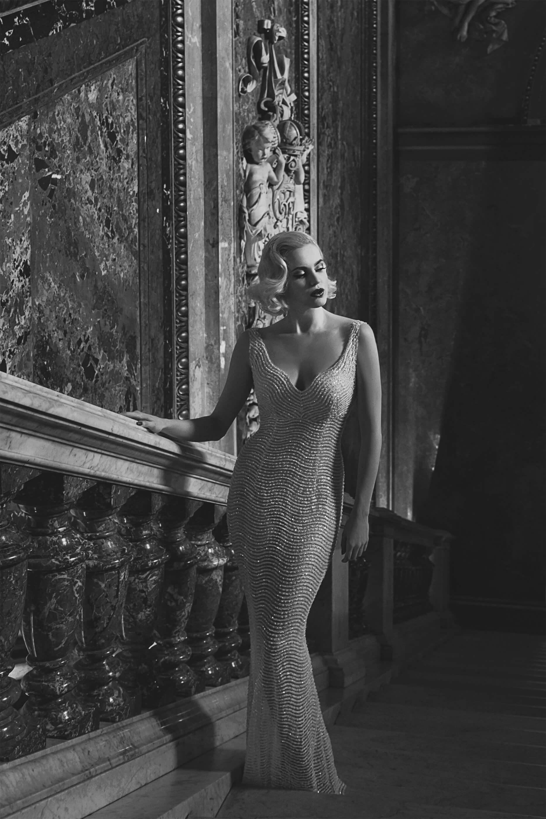 irina hofer, evening, gown, fashion, made in austria, khm, museum, vienna, ursula schmitz, designer