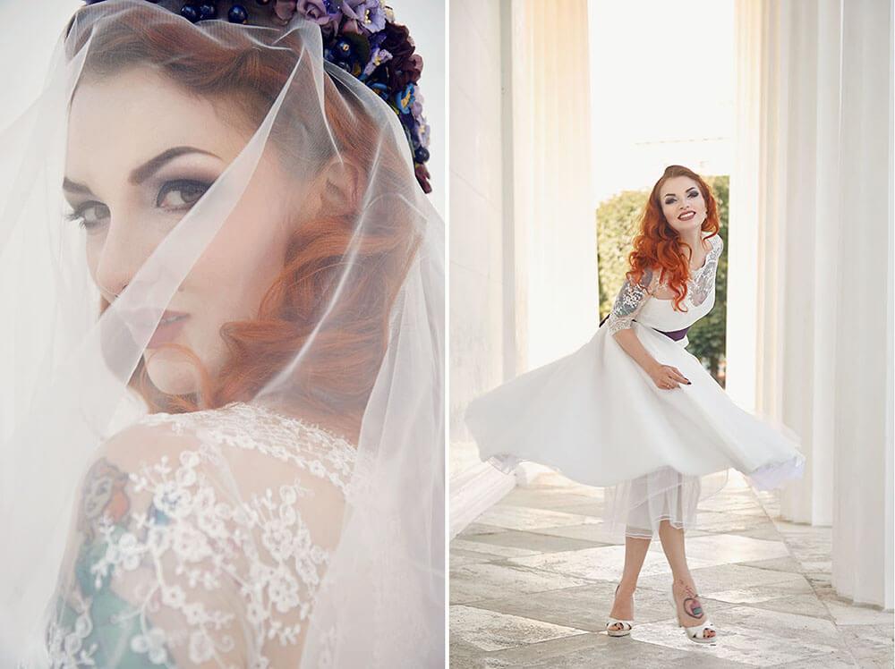 glam the dress, bridalshoot, after the wedding, wedding dress, flowercrown, ursula schmitz,vienna, destination