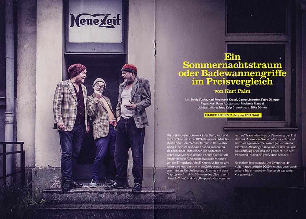 theater phoenix, linz, österreich, theater, spielzeit 2016 17, programmheft, schauspieler