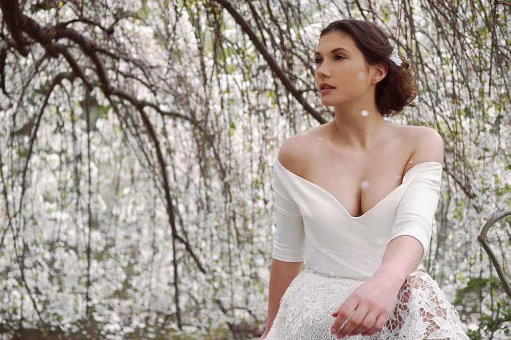 glam the dress, bride, wedding, special, sakura, cherry, blossom, vienna, destination photography, portrait, ursula schmitz, yourPortrait