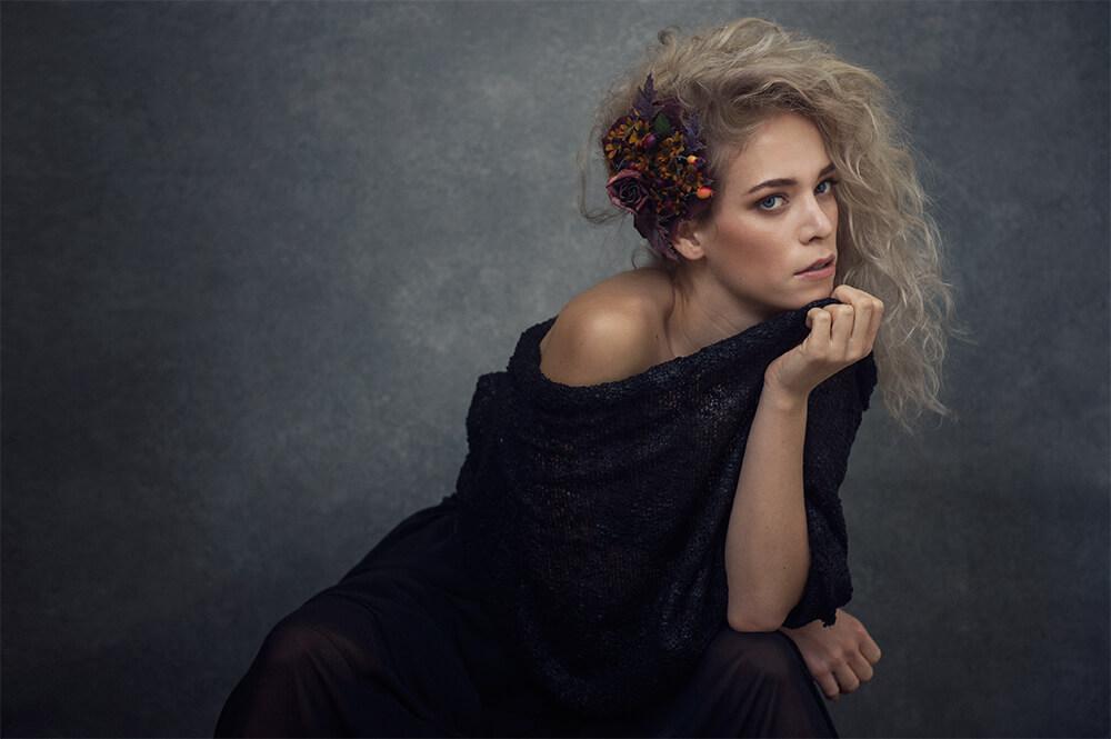 leslie hanzl, actress, headshots, playtime, fun, portraits, simply gorgeous, big hair, ferman ab, mac cosmteics