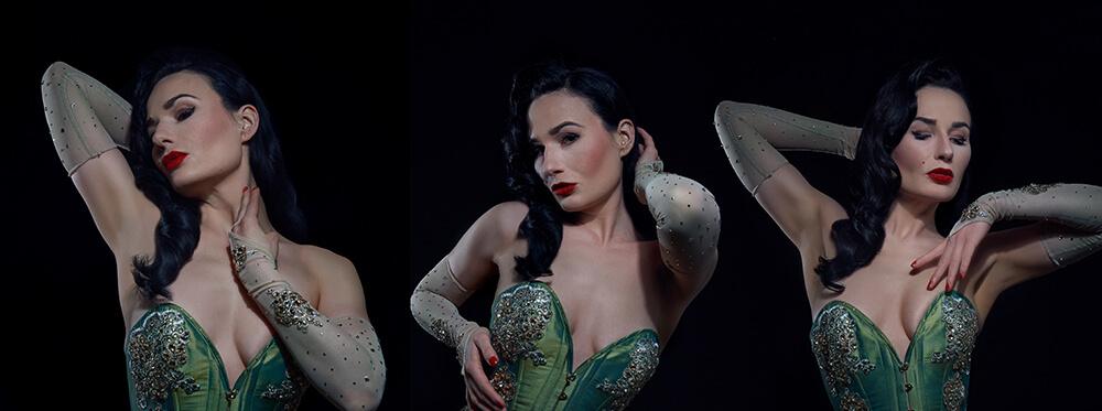 kate de vienne, wien, bourlesque, dancer, sensual, sexy, ursula schmitz, portrait, photography