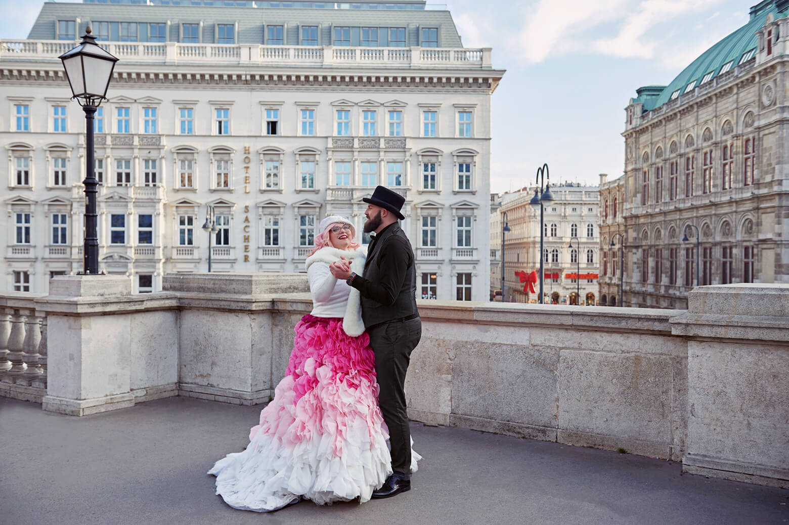 A Viennese Love Story - from Vienna with love, a beautiful elopement in Vienna, Austria