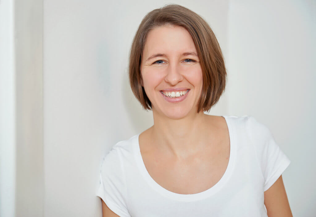Shiatsu Expertin Marion Fritz bei der Arbeit, Personal Branding Fotografie in Wien